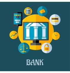 Banking and investment concept vector image vector image