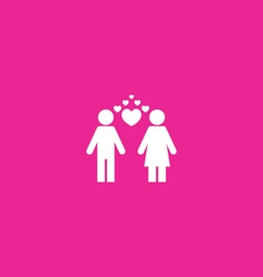 Couples Icon vector image