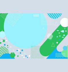 modern background trendy fluid design vector image
