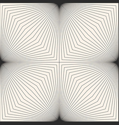 Monochrome geometric pattern with slanted lines vector