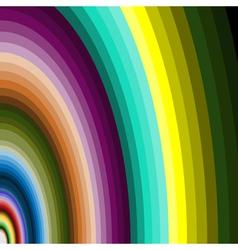 Multicolour arcs vector