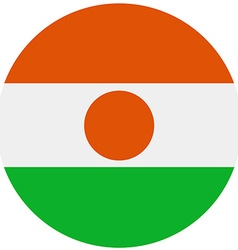 Niger flag vector