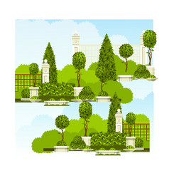 Recreation park vector