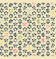 Seamless pattern geometric circle vector