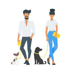 street fashion people vector image