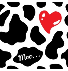 Cow background seamless vector image