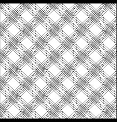 pattern of lines and dots vector image vector image