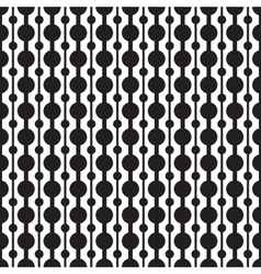 Classic circle geometric seamless pattern vector image