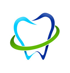 dental guard logo symbol vector image