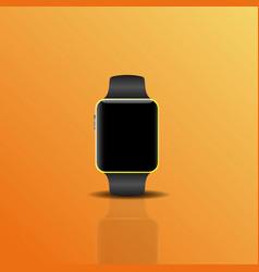 smart electronic intelligence watch vector image