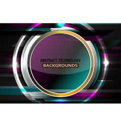 Abstract circle luxury background vector