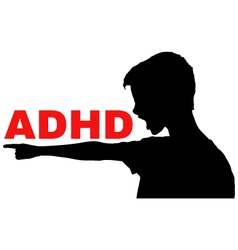 ADHD concept vector image
