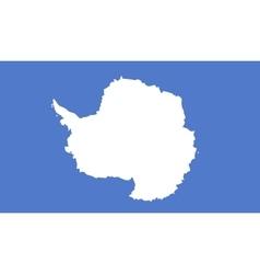 Antarctica flag image vector