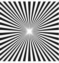 Black white sunburst background stripe lines vector