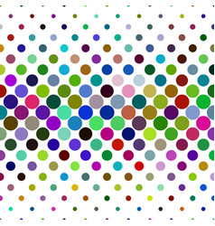 Circle pattern background - abstract from dots in vector