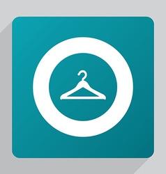 flat Hanger icon vector image