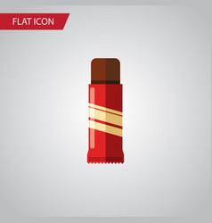 Isolated confection flat icon sweet vector