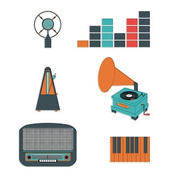 Music players and components vol 3 vector