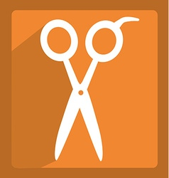 scissors icon design vector image