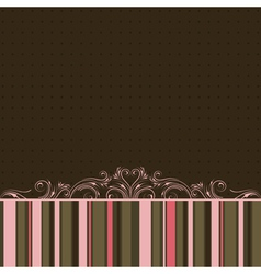 Striped color background vector
