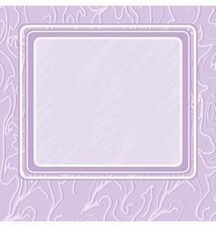violet background with frame vector image
