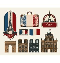 France Paris vector image