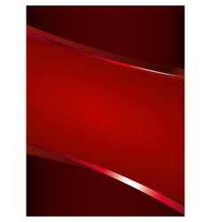 Red background with glossy elements vector image vector image