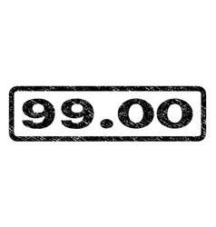 9900 watermark stamp vector image vector image