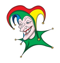 joker icon2 resize vector image