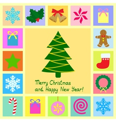Christmas card 3 vector