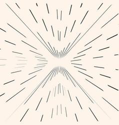 Sunburst starburst black radial lines strokes vector