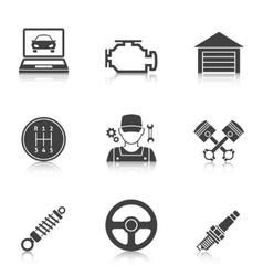 Auto Service Icons vol 2 vector image vector image