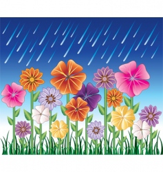 spring day border vector image vector image