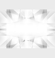 abstract white and gray color geometric vector image