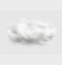 cloud fog smoke urban smog vector image