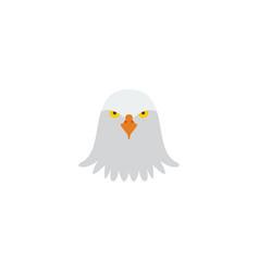 flat icon eagle head element vector image