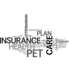 what you need to know about pet health care vector image