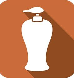 Soap Dispenser Icon vector image vector image