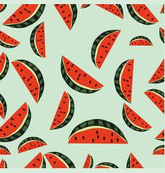 Pattern watermelon vector