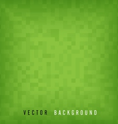 Green pattern mosaic background vector image