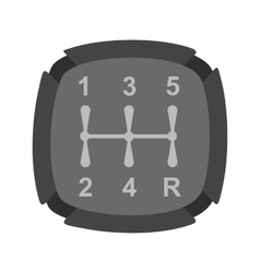 Car Shifter vector