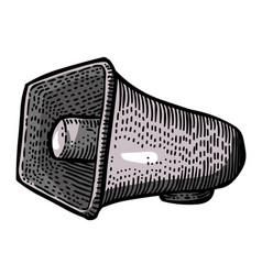 Cartoon image of siren icon alarm symbol vector