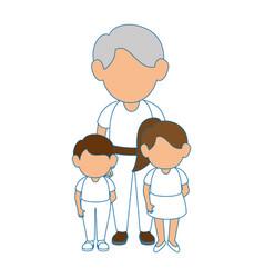 grandfather icon image vector image