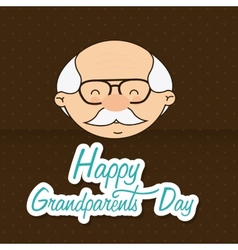 grandfathers day vector image
