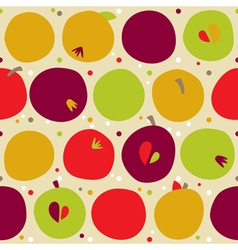 pattern from apple vector image