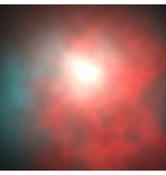 red smoke vector image