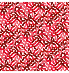 Seamless red pattern in hipster style vector