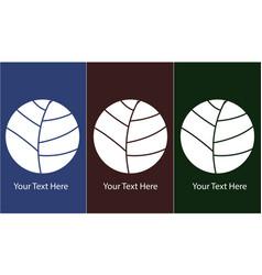 T-shirt ball design template vector