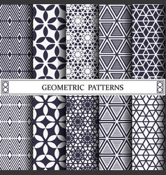 Triangle geometric patternpattern fills web vector