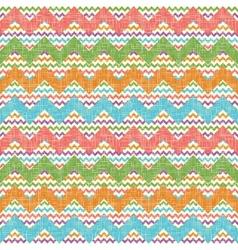 zigzag chevron pattern vector image